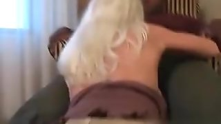 I found her on MATURE-FUCKS.COM - Mature blonde creampied by BBC