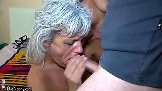 Oldnanny Gruppesex - Trekant Teenager Pige med Moden