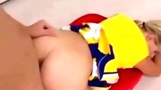 Hot Cheerleader Creampie FG09