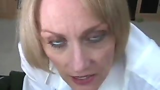 GILF Goes To Her Doctor'_s Office