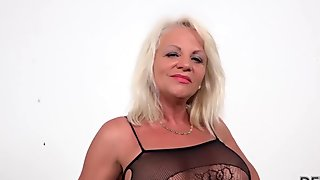 Bernadeta anal blowjob hardcore shaved creampie solo stripping natural 3