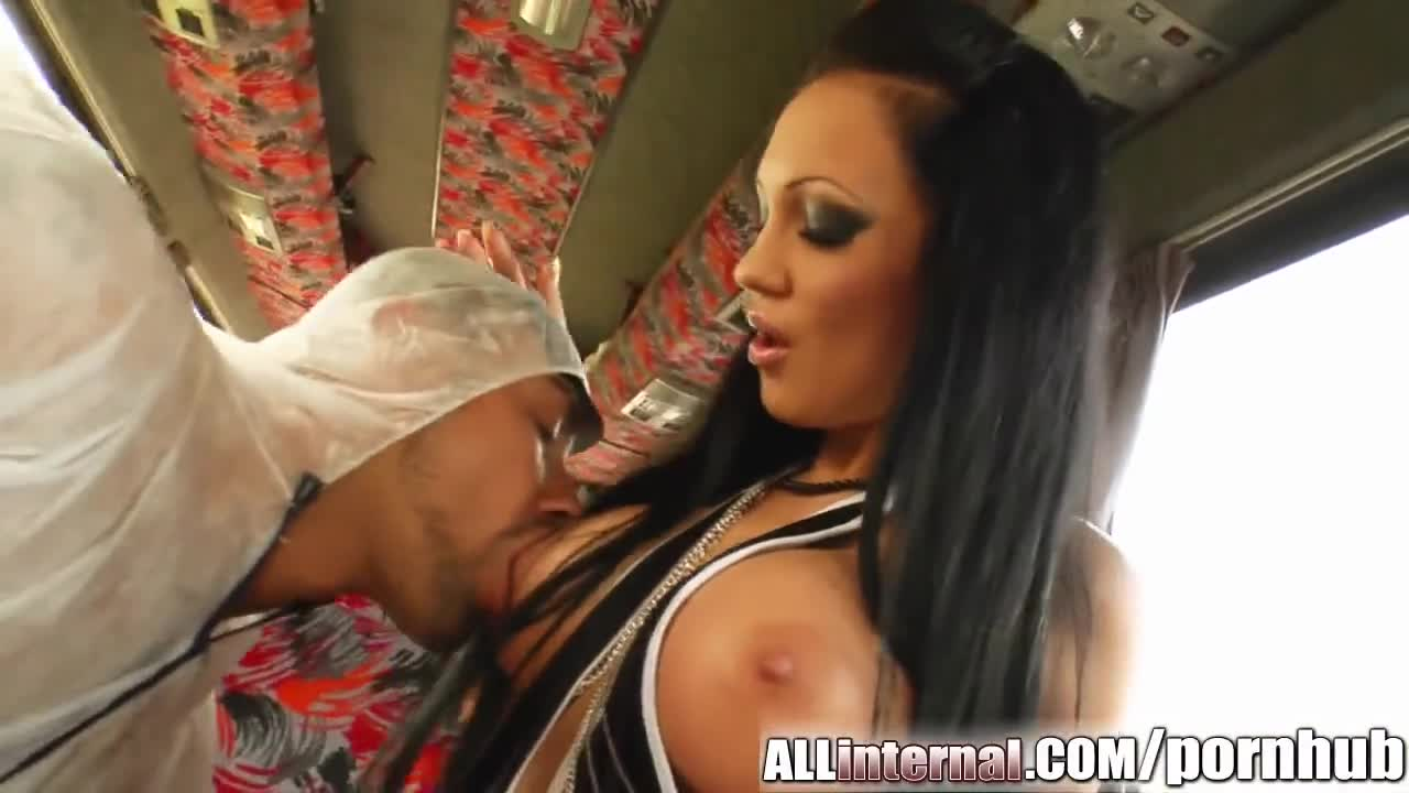 All Internal Regina's pussy ruled by fierce fucking then filled