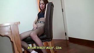 Nice Slimy Anal Fuck Up Super Asian Slapper