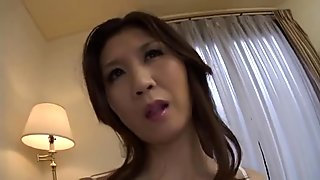 Blowjob sex with a japanese indecent mamma by airliner1