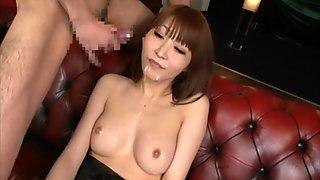 Japanese girls bukkake facial blowjob cumshot compilation