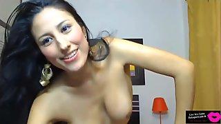 Live Sex Cam- Latina Striptease @hotsquirtcam.tk (HD)