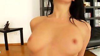 All Internal - Audrie enjoys cum inside getting creampie in hardcore gonzo scene