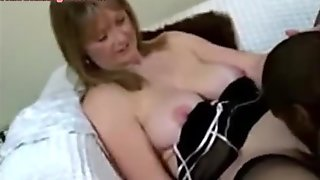 Wife Gets Fucked in All Holes and Creampied