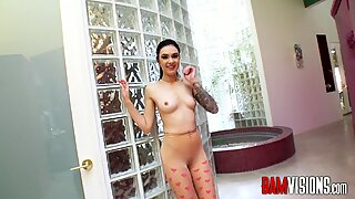 Bamvisions Marley Brinx fucked in a bathtub