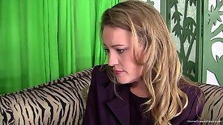 Срамежливи блондинки изневерява на съпругата си в интервю