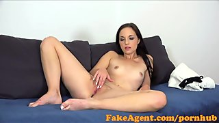 FakeAgent Beautiful skinny student needs fast cash