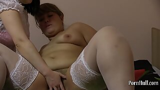 lesbians In fisting wooly Pussy Plump!