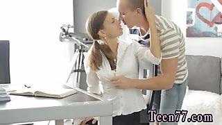 Teen girl self facial and homemade sucks cock Carre seduced by classmate