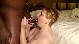 BBC Sæd i Blondines BEDSTEMOR Mouth
