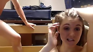 Dirty 19 Year Old Girl Gets A Creampie