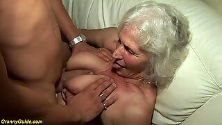 Bedstemor i sin allerførste pornografivideo