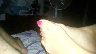 Cumblast nice feet