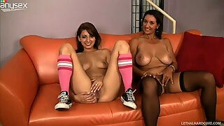 Christian XXX and two fuckable sluts Persia Monir and Lexi Bloom