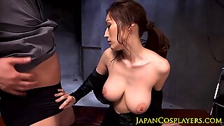 Bigtitted japanese milf pussyfucked