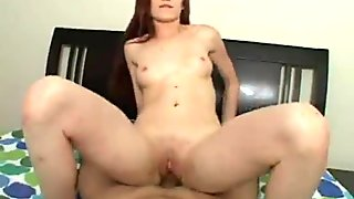 Cute Ruby Flame Receives Huge Creampie