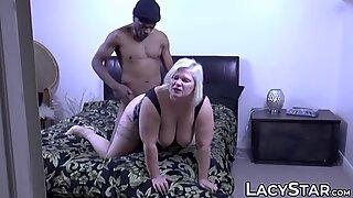 English GILF Lacey Starr stuffed with big black cock