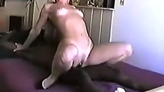 NastyPlace.org - Nice looking fit white wife BBC creampie