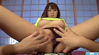 Hitomi Kitagawa dashing fuck sensations on ca