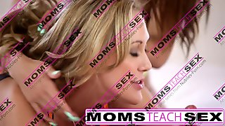 Step mom Brandi Love compilation teaching teens