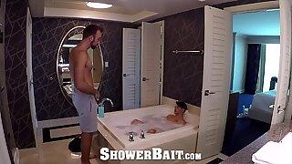 ShowerBait Dripping wet shower POUNDING