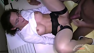 Kinky Office Creampie Sluts - Julie Skyhigh and Anna -----RQ