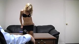 Squirt, anal and creampie casting bed dilettante